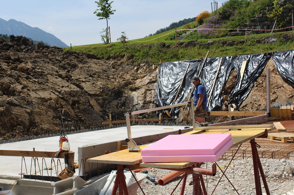 bauunternehmen baufirma errichtung einfamilienhaus abtenau