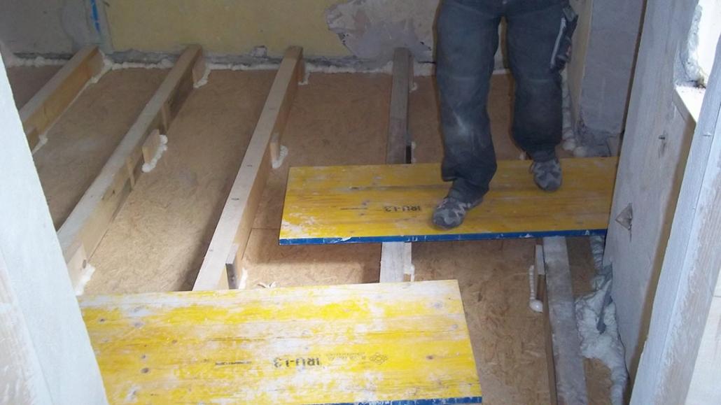 innnenausbau sanierungen renovierung wohnung altbau baufirma abtenau salzburg