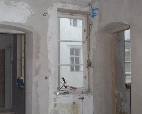 Sanierung Denkmalgeschützte Wohnung Salzburg baufirma abtenau